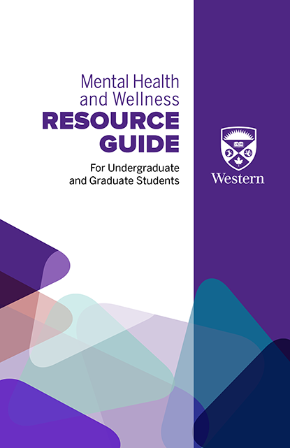 Cover of the Mental Health and Wellness Resource Guide